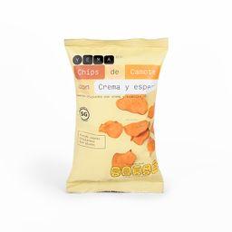 Yema Chips De Camote Con Crema Y Especias