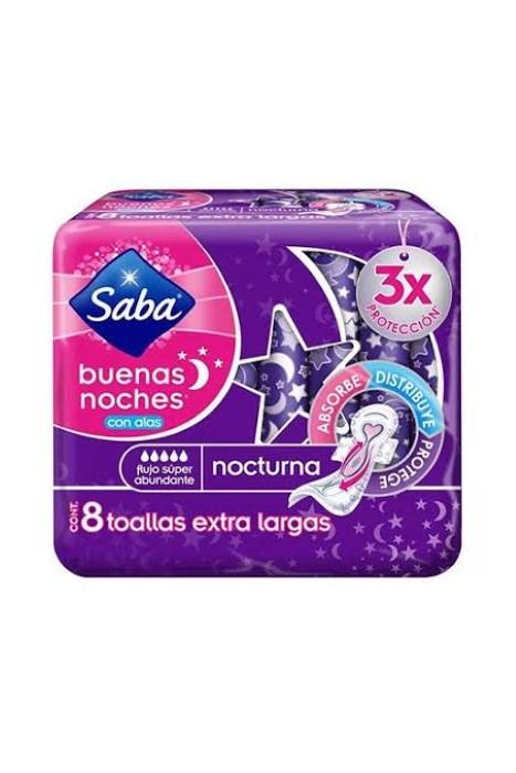 Saba Buenas Noches C 8 Extra Nocturna