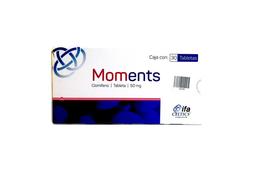 Moments 50Mg 30 Tabs