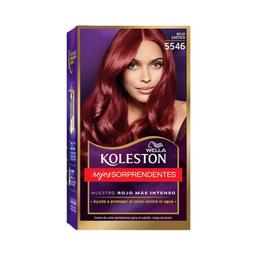 Tinte Koleston en Crema Rojos Color Rojo Exótico