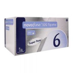 Novofine 32G Tip Etw .23/.25X6Mm 100 Agu