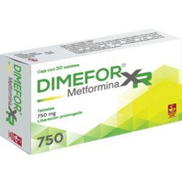 Dimefor Xr 30Tabs /750 Mg