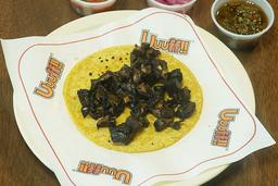 Taco de Portobello en Maíz