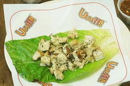Taco de Pollo en Lechuga