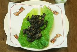 Taco Portobello en Lechuga