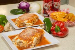 PACOMPARTIR Combo Dos Lasagnas Bolognesa