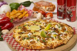 PACOMPARTIR Combo Pizza Pastor + Lasagna al Pastor