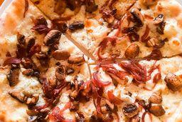 Pizze Taleggio, Funghi e Cipolle