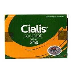 Cialis 14 Tabletas (5 mg)