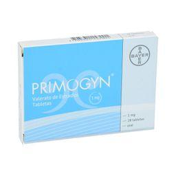Bayer Primogyn 28 Tableta(s) Caja Estradiol 1 mg