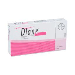 Diane 21 Tabletas (2 mg/0.03 mg)