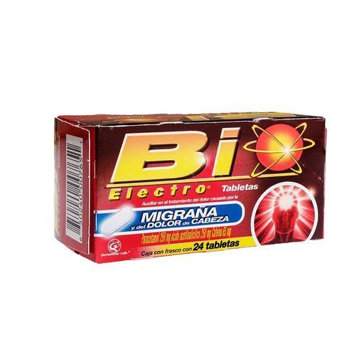Bio Electro Migraña (250 Mg/250 Mg/60 Mg)