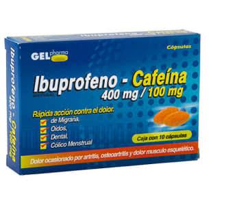 Comprar Ibuprofeno /caf 400/