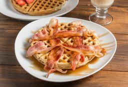 Waffle Mapple Leafts