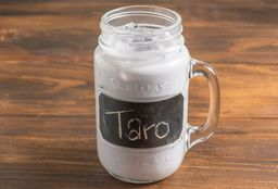 Latte Taro Frío