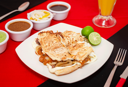 2 Tortas Planchadas de Bistec = Agua Litro GRATIS