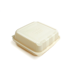 Clamshell 48 Oz con Divisiones Biodegradable |Caja|