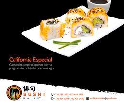 Sushi California Especial