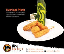 Empanizados Kushiage Mixto