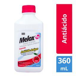 Melox Plus Suspension Antiacido - Antigas Sabor Cereza 360 mL