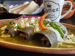 Enchiladas de Arrachera