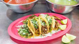Paquete de 5 Tacos y Agua