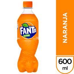 Fanta de Naranja 600 ml
