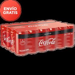 Coca-Cola Sin Azucar Refresco Lata X 24