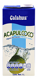 Agua de Coco Acapulcoco Natural 1 L