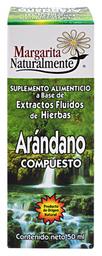 Suplemento Alimentcio Margarita Natural Arándano Compuesto 50 mL
