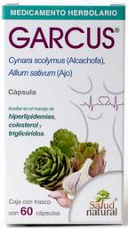 Medicamento Herbolario Garcus Ajo y Alcachofa 60 Cápsulas