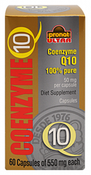 Suplemento Alimenticio Pronat Coenzima Q10 60 Cápsulas