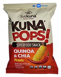 Botana de Quinoa Kuna Pops! y Chía Sabor Picante 35 g