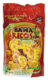 Snack Banaricos Hojuelas de Plátano al Natural 240 g