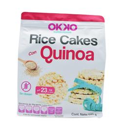 Galleta Okko Super Foods de Arroz Con Quinoa 140 g