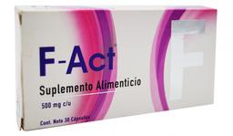 Suplemento Alimenticio F-Act 500 Mg