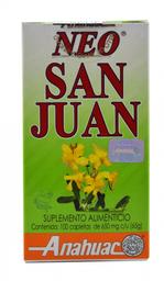 Hierba de San Juan Anahuac 100 Cápsulas