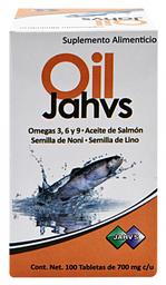 Suplemento Alimenticio Jahv's Lc Oil 100 Tabletas