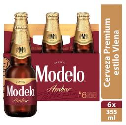 2x1 Cerveza Modelo Especial Amb 6Pzs 355mL