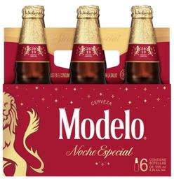 Cerveza Modelo Noch Especial 6Pzs 355mL