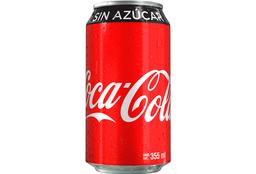 Coca Cola Sin Azúcar 355 ml