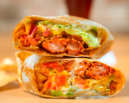 Wrap Buffalo Ranch Crispy Chicken