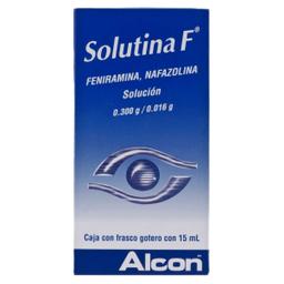 Solutina F Solución Gotero 15 mL (0.300 g/0.016 g)