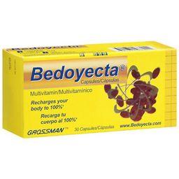 Multivitamínico Bedoyecta Con Ácido Fólico 30 U