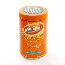 Fibra en Polvo Metamucil Sabor Naranja 174 g