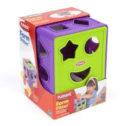 Cubo de Formas Playskool Modelo 322 E4 1 U