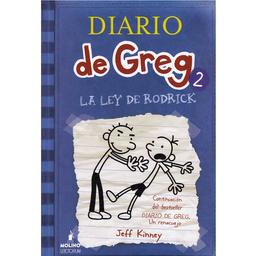 Diario de Greg 2. La Ley de Rodrick - Jeff Kinney 1 U