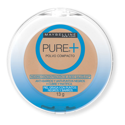 Polvo Pure Natural Maybelline