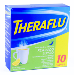 Te Antigripal Theraflu Resfriado Severo 10 Sobres