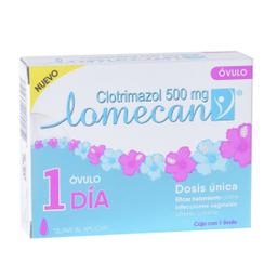 Lomecan V Óvulo 1 Dia (500 mg)